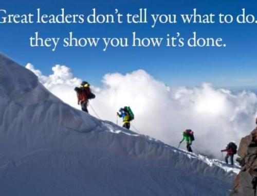 Great Leaders Don't tell You What to Do