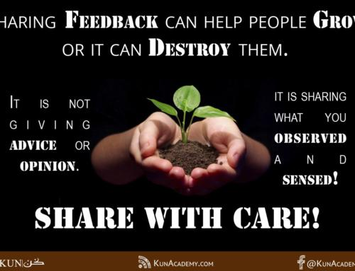 Share Feedback With Care!